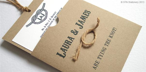 tying the knot' wedding invitations and stationery » wedding, Wedding invitations