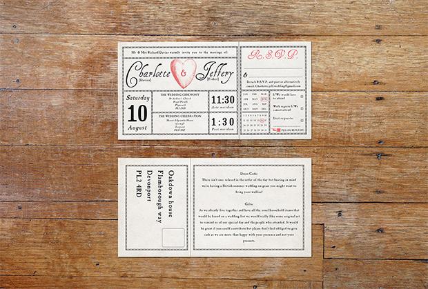 Antique Ticket