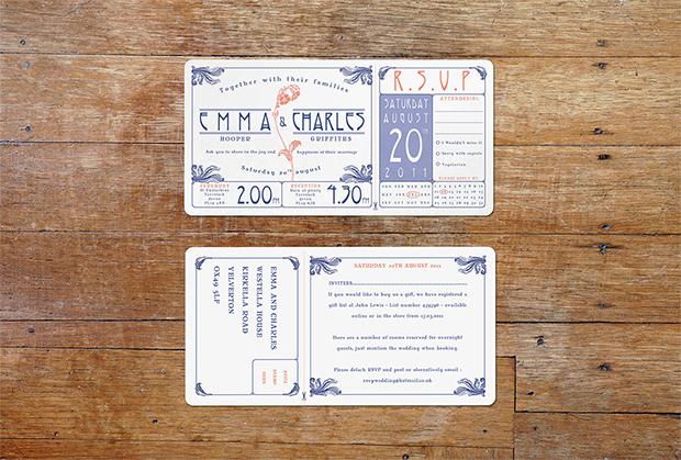 Art Nouveau ticket