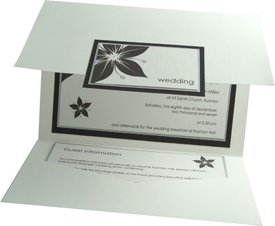 Pocketfold Wedding Invitations on Pocketfold Wedding Invitation