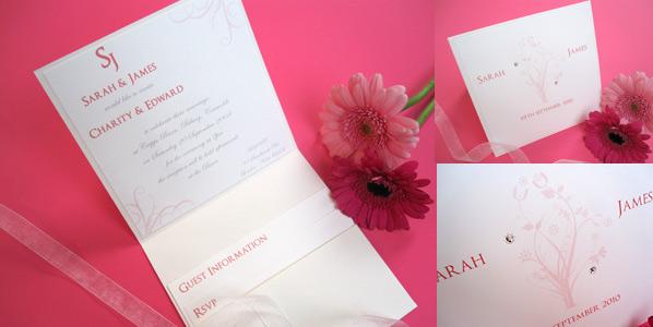 Little Angel spring wedding invitations