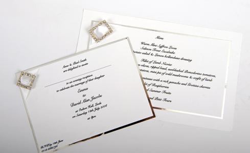 Linda Abrahams Wedding Invitations