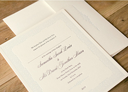 Traditional Wedding Invitations Classic Stationery