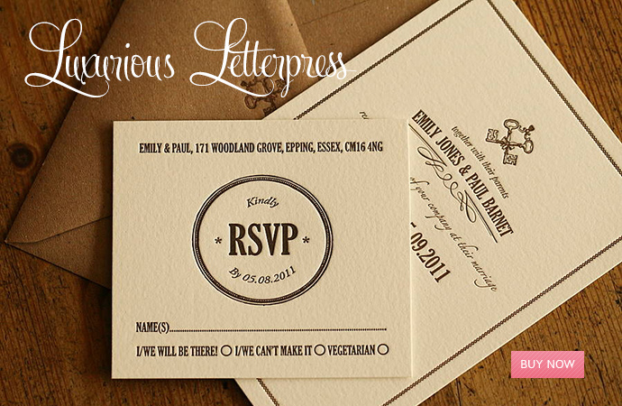 Shop for Letterpress Invitations