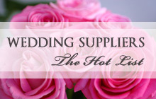 Wedding Suppliers 'Hot list'