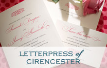Letterpress of Cirencester Stationery