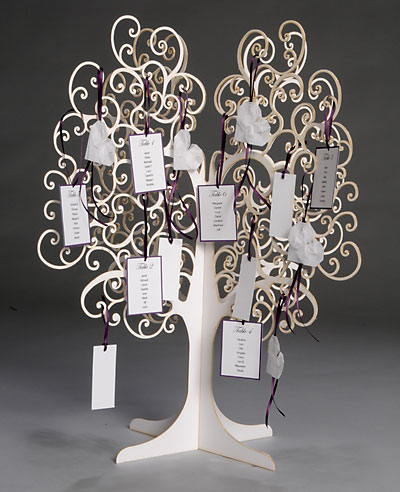 Wedding Decorations  on And Table Tree By Paperbird Design    Wedding Invitation Ideas Blog