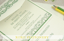 XOXO Wedding Stationery