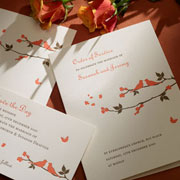 Carolinian -  embossed Wedding Invitation