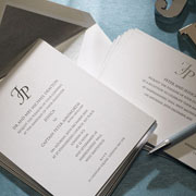 Insignia Wedding Invitation