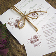 'Rustic Rose' by Little Angel Weddings